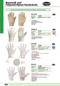 thumbnail of STRONG HAND – Baumwoll Handschuhe