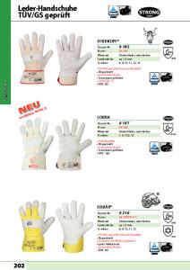 thumbnail of STRONG HAND – Leder Handschuhe