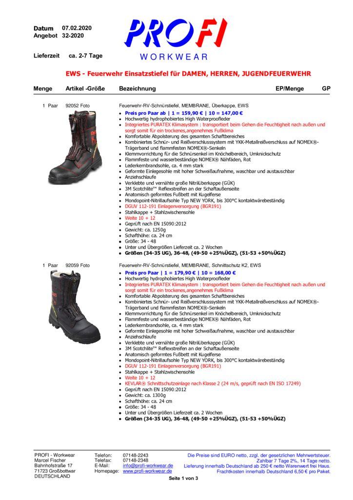 thumbnail of Feuerwehr Einsatzstiefel = EWS = 02-2020